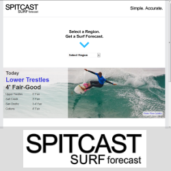 spitcast.com surf reports