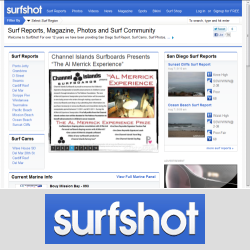 surfshot.com surf report